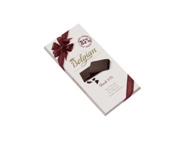 Шоколад Belgian черный 85% 100г