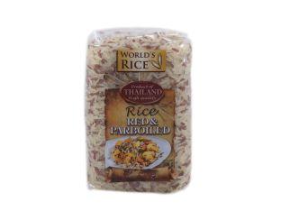 Рис парбоилд и красный World's rice 500г - FreshMart