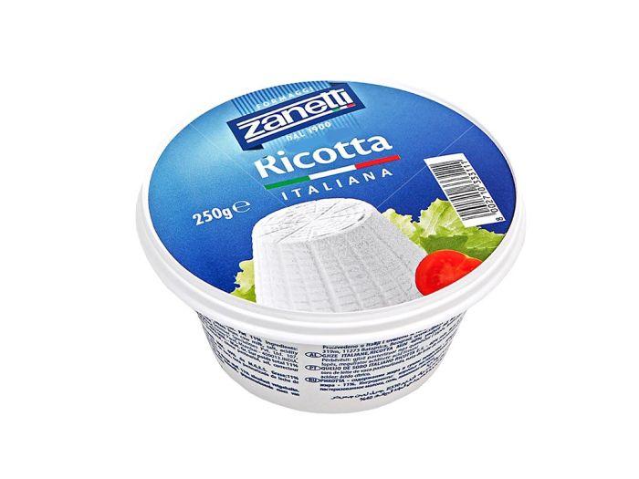Сыр Рикотта Zanetti 40% мягкий 250г - FreshMart