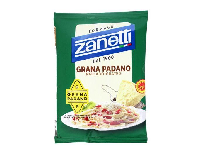 Сыр Грано Падано Zanetti 32% тертый 100г - FreshMart
