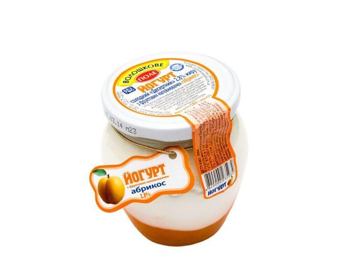 Йогурт «Волошкове поле» абрикос 2.8% 350г - FreshMart
