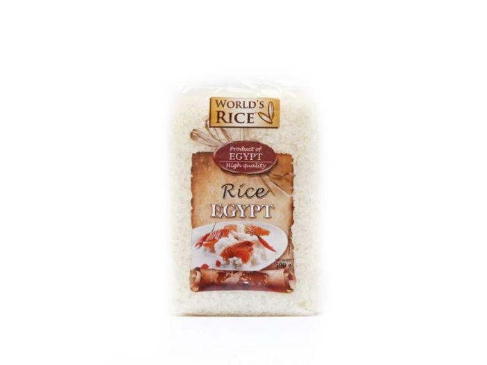 Рис египетский World's rice 500г - FreshMart