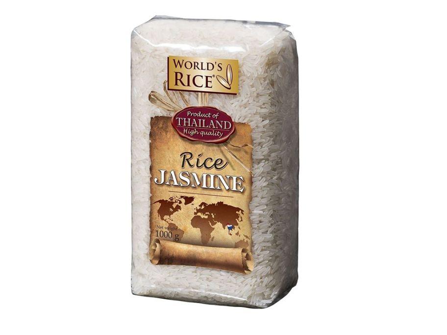 Рис жасмин World's rice 1кг - FreshMart