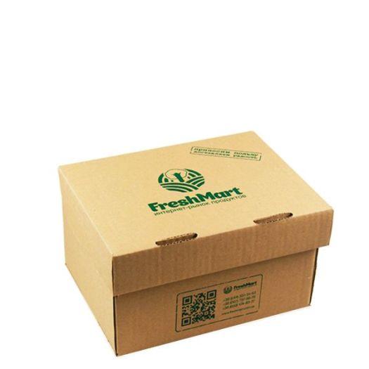 Картонная коробочка маленькая - FreshMart
