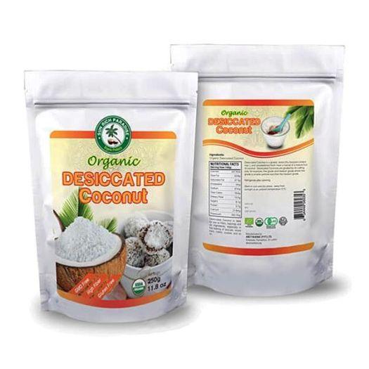 Кокосовая стружка органическая 250г - FreshMart