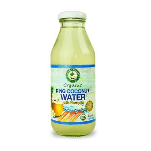 Кокосова вода з ананасом органічна 350мл - FreshMart