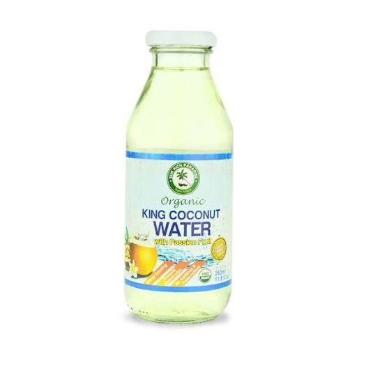 Кокосова вода пешн фрут органічна 350мл - FreshMart