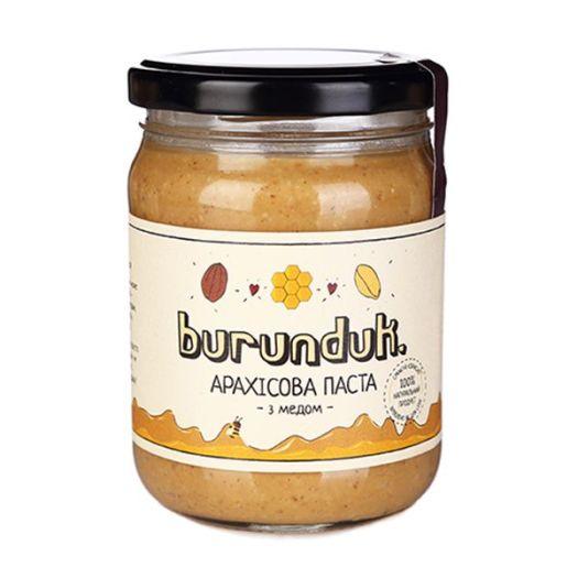 Арахісова паста з медом Burunduk 450г - FreshMart