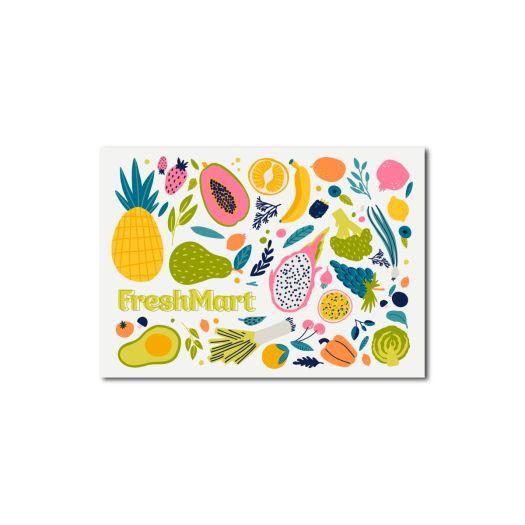 Фруктовая открытка - FreshMart