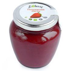 Клубничная паста органическая LiQberry 550г - FreshMart