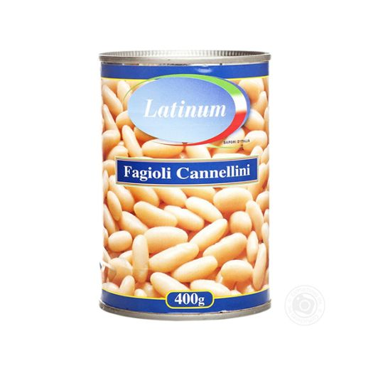Квасоля консервована Latinum Fagioli Cannellini 400г - FreshMart