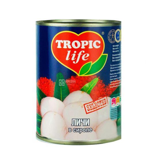 Лічі Tropic Life в сиропі 580мл  - FreshMart