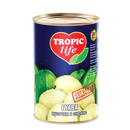 Гуава Tropic Life шматочки в сиропі 425мл  - FreshMart