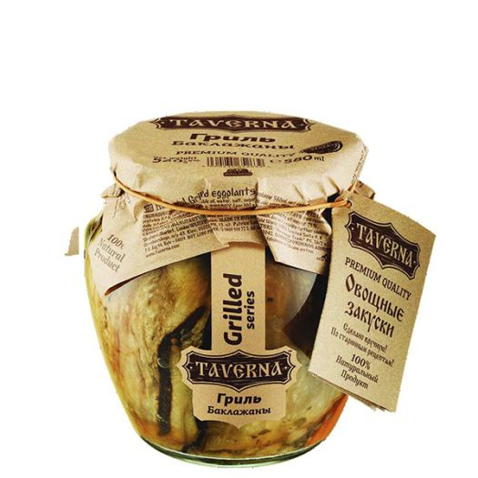 Баклажаны гриль Taverna 580мл - FreshMart