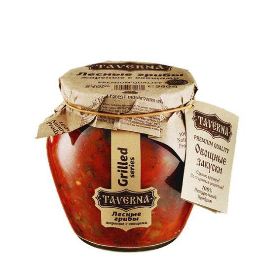 Грибы лесные Taverna жареные с овощами 580 мл - FreshMart
