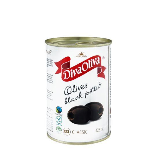 Маслини Diva Oliva XXL великі без кісточки 390г - FreshMart