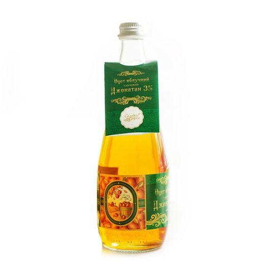 Уксус яблочный натуральный 3% Солодка Мрія 300мл - FreshMart