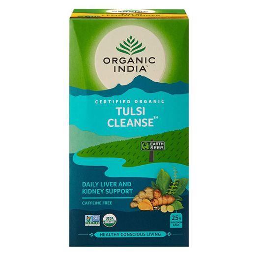 Чай травяной Organic India Tulsi Cleanse - FreshMart