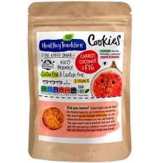 Печенье Healthy Tradition Cookies морковь, кокос и инжир 90г - FreshMart