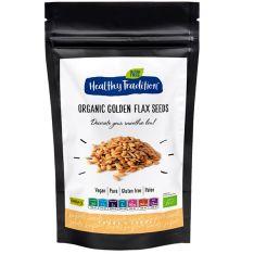 Семена льна золотистого Healthy Tradition органические 200г - FreshMart