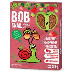 Цукерки Bob Snail яблучно-полуничні натуральні 60г - FreshMart