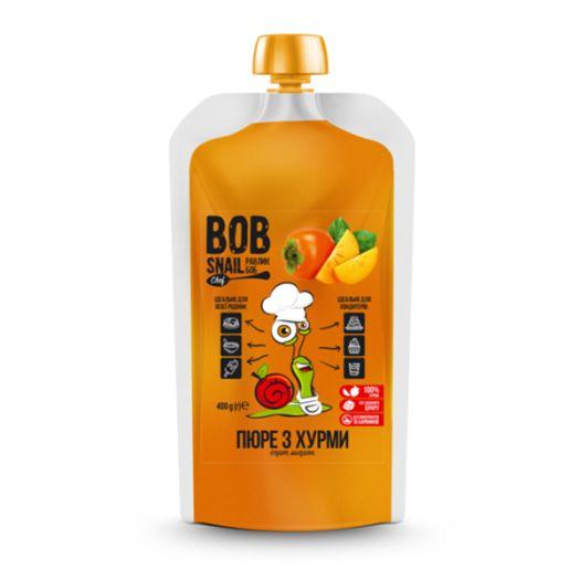 Пюре Bob Snail из хурмы натуральное 400г - FreshMart