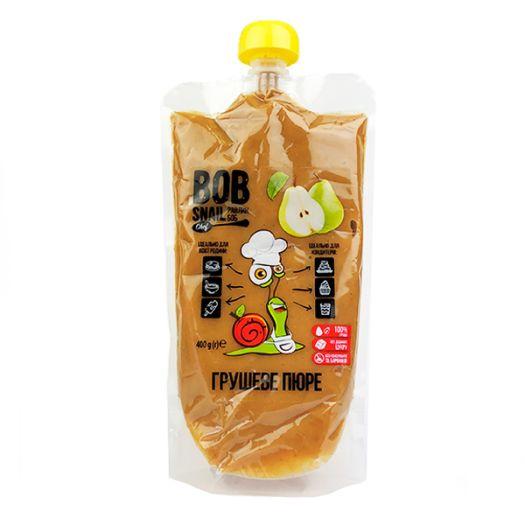 Пюре Bob Snail грушевое натуральное 400г - FreshMart