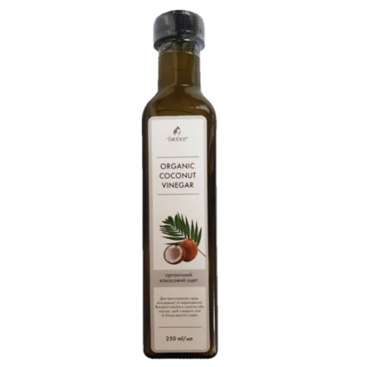 Кокосовий оцет органічний ЇЖЕКО 250мл - FreshMart