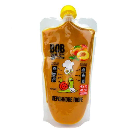Пюре Bob Snail персикове натуральне 400г - FreshMart
