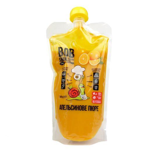 Пюре Bob Snail апельсиновое натуральное 400г - FreshMart