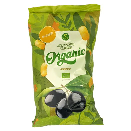 Палички кукурудзяні Екород Оливкові органічні 70г - FreshMart