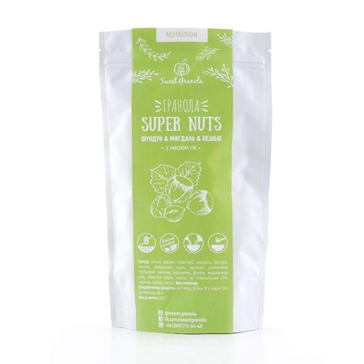 Гранола Sweet Granola Super Nuts Nutrition 300г - FreshMart