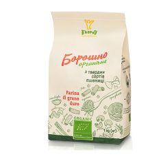 Мука из твердых сортов пшеницы органическая Экород 1кг - FreshMart