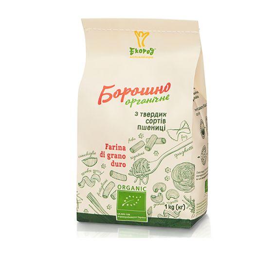 Борошно з твердих сортів пшениці органічне Екород 1кг - FreshMart