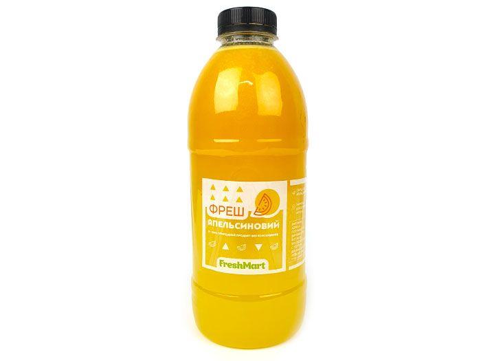 Сік фреш апельсиновий 1л - FreshMart