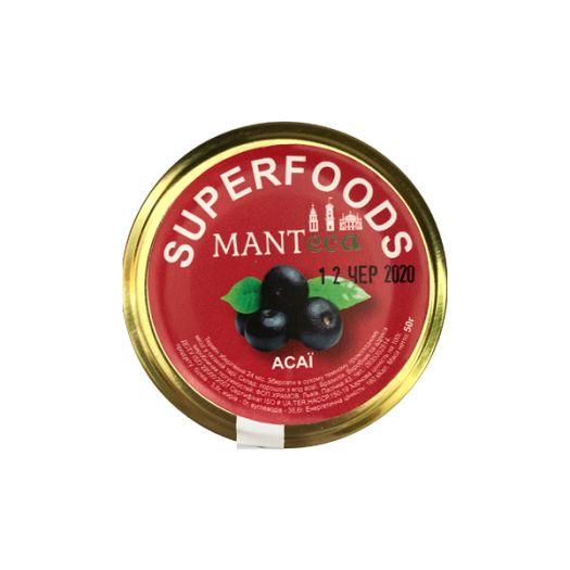 Ягоды асаи порошок Manteca 50г: фото 2 - FreshMart