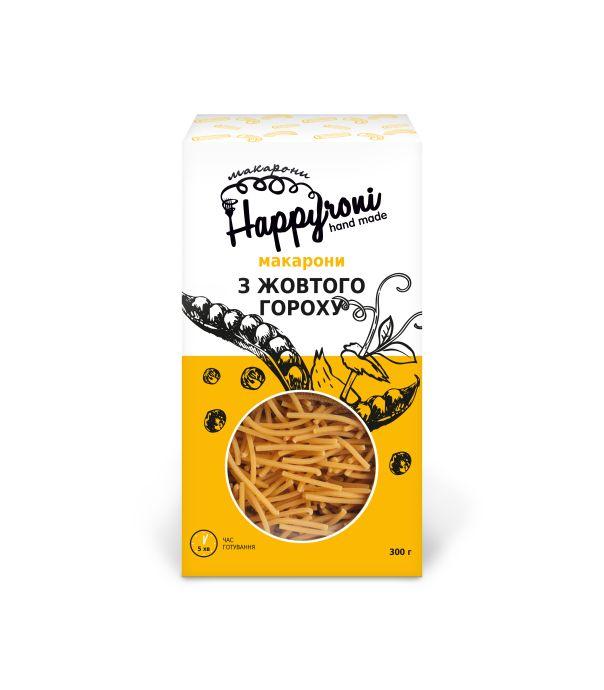 Макароны из желтого гороха вермишель Happyroni 300г - FreshMart