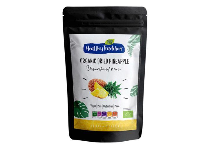 Ананас без цукру органічний 250г - FreshMart