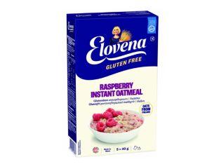 Овсяная каша быстрого приготовления с малиной без глютена Elovena 200г - FreshMart