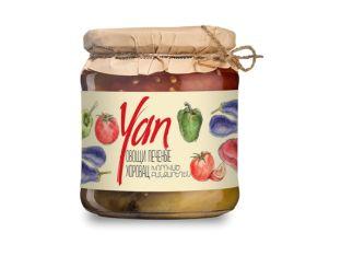 Овощи печеные YAN 455г - FreshMart