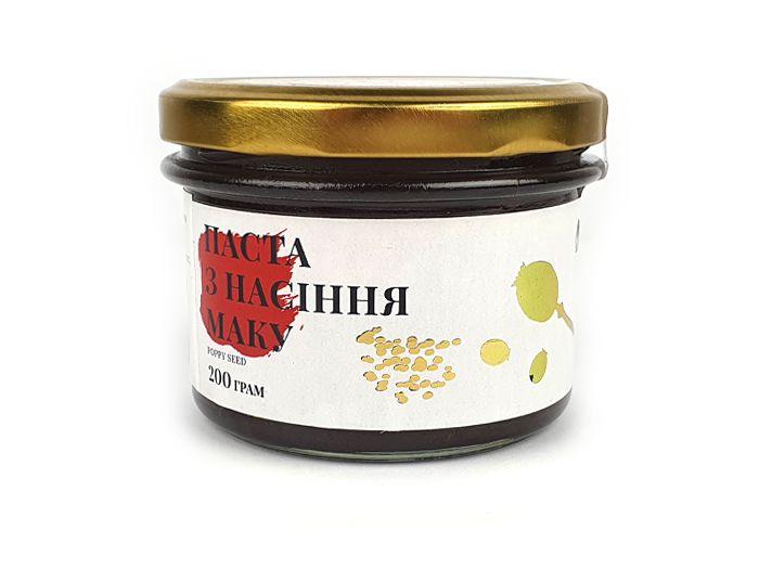 Паста из семян мака Nutes 200г - FreshMart