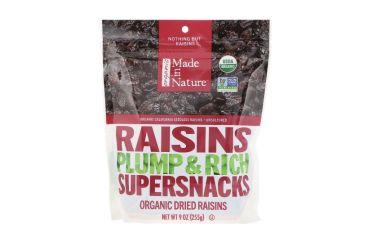Изюм крупный органический Made in Nature 255г - FreshMart