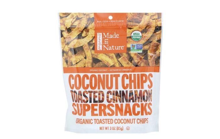 Чіпси кокосові органічні Made in Nature 85г - FreshMart