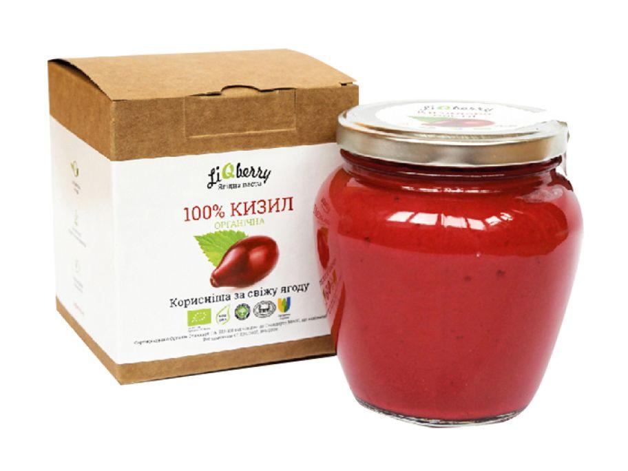 Кизиловая паста органическая LiQberry 550г - FreshMart