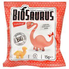 Снеки кукурузные с кетчупом органические BioSaurus 15г - FreshMart