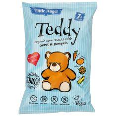 Снеки кукурудзяні з морквою та гарбузом Teddy 30г - FreshMart