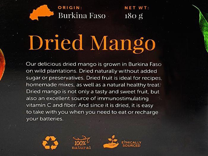 Манго сушеный Edem Food 180г: фото 2 - FreshMart