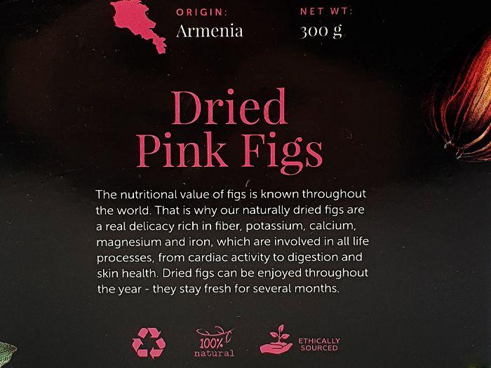 Інжир рожевий сушений Edem Food 300г: фото 2 - FreshMart