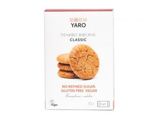 Набор печенья овсяного classic Yaro 4шт 72г - FreshMart