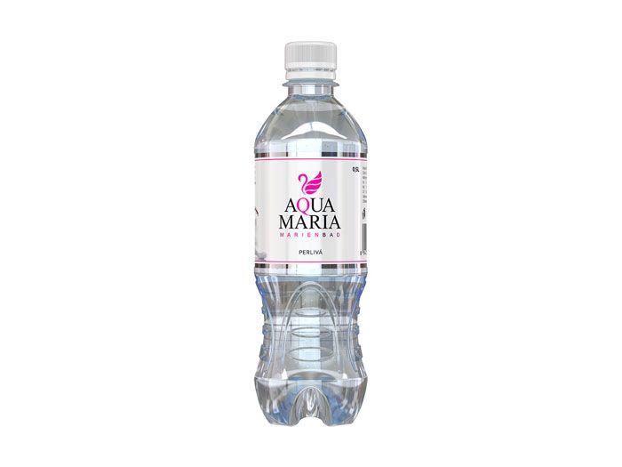 Вода минеральная столовая газированная Aqua Maria 0.5л - FreshMart